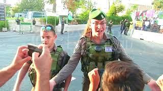 #x202b;مظاهرة منددة بالاستيطان وتهويد المسجد الابراهيمي في الخليل ١٨-٩-٢٠١٧#x202c;lrm;