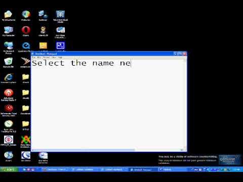 Making Secret Folder in windows XP!!!