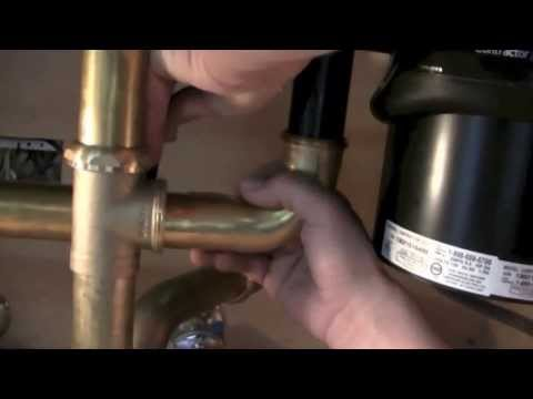 How to Install Plumbing for Underneath your Kitchen Sink step-by-step