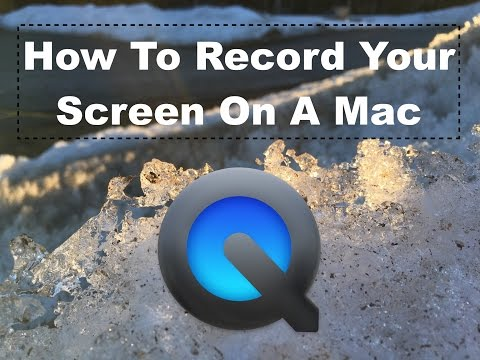 How to record Mac screen with both user and system sound with QuickTime + Soundflower