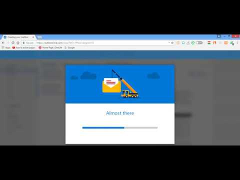 How to create hotmail account 2018