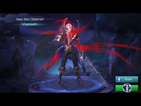 Buying Viscount Skin Starlight Membership Via Cellphone Load | Mobile Legends