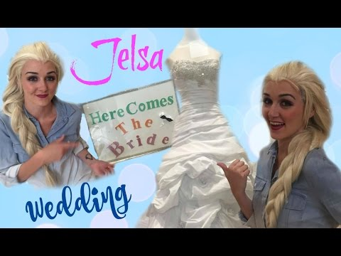 JELSA WEDDING | Elsa shops for her Wedding Dress!
