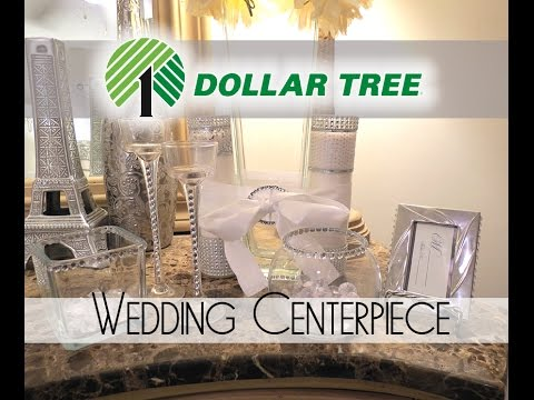 D.I.Y. Dollar Tree Wedding Centerpieces - 2016