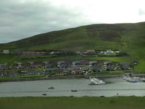 Lerwick (Ilhas Shetland) - Escócia Reino Unido - Msc Magnifíca
