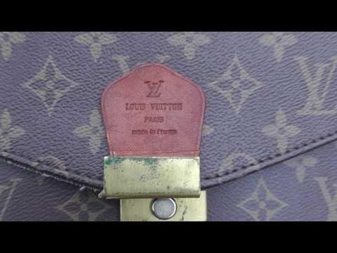 Burning a Louis Vuitton Bag
