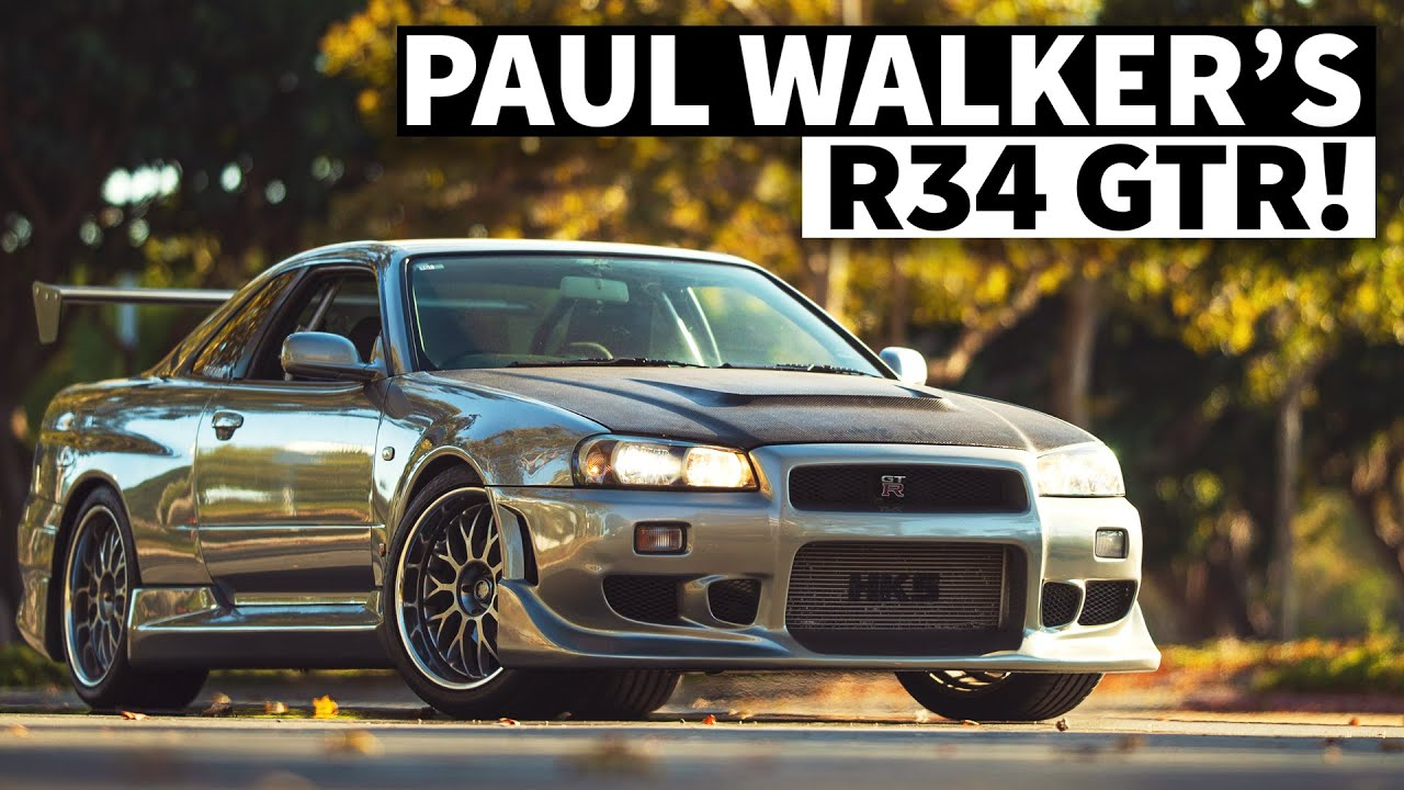 LA's Skyline Stronghold, AND Driving Paul Walker's Personal R34 GT-R