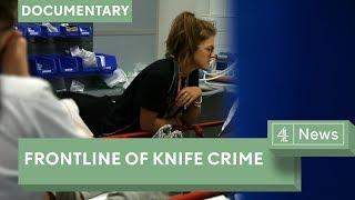 UK knife crime: the London trauma ward at the frontline