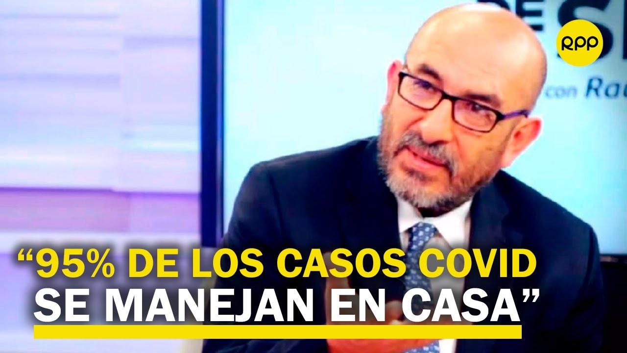 """Elmer Huerta: """"Muchos contagios se producirán en casa y deben saber cómo manejar los casos"""""""
