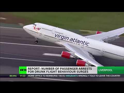 Ryanair wants 2 drink cap & alcohol ban before 10am at UK airports