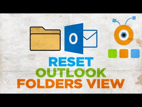 How to Reset Outlook Folders Default View