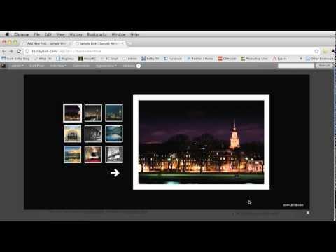 Lightroom to Wordpress Gallery How-To