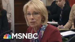 Betsy DeVos Finally Answers Congresswoman