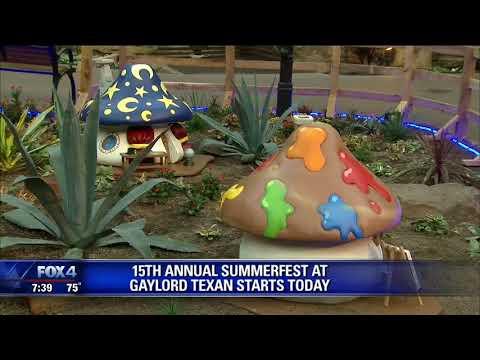 Summerfest starts at Gaylord Texan
