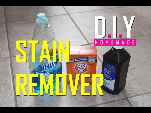 BEST Homemade Stain Remover EVER! DIY, Cheap and EASY!