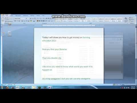 how to get money on farming simulator 2013