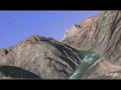 Google earth flight sim over the grand canyon