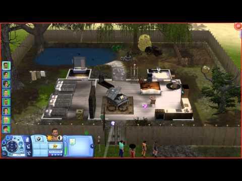 The Sims 3 - Desafio do Hospício Insano (Ep. 2) - Tour do Manicômio