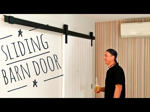 Install a Sliding Barn Door Modern
