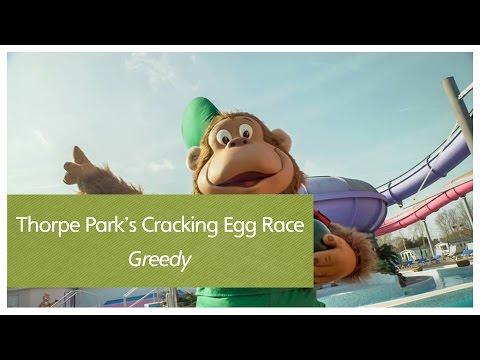 Thorpe Park's Cracking Egg Race - Greedy