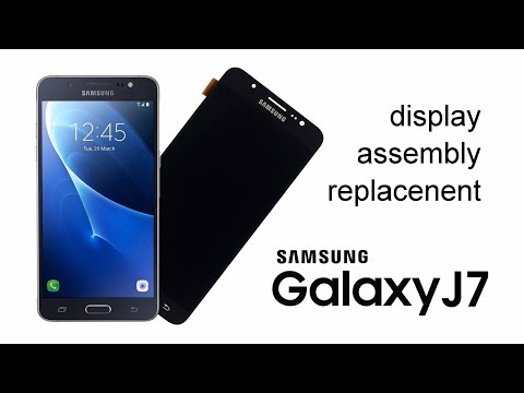Samsung Galaxy J710 2016 Display Replacement
