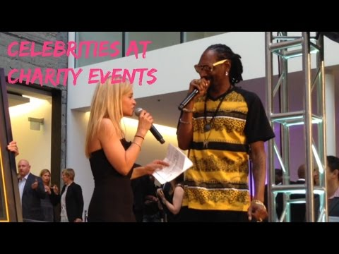 Snoop Dogg Fundraising Charity Auction #2 | Working with Celebrities at Charity Events