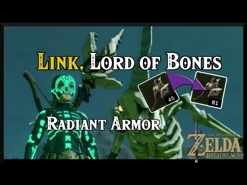 [Zelda Breath of the Wild] Trying out the RADIANT ARMOR