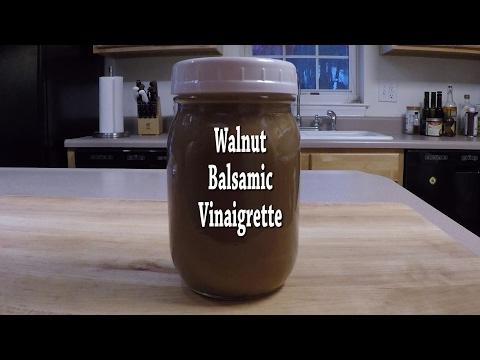 Walnut Balsamic Vinaigrette