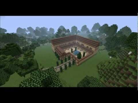 [Minecraft Timelapse] Roman Villa