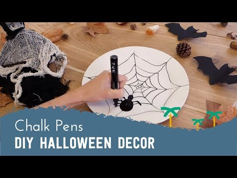 Last Minute Halloween DIYs with Liquid Chalk Markers | Stationery Island
