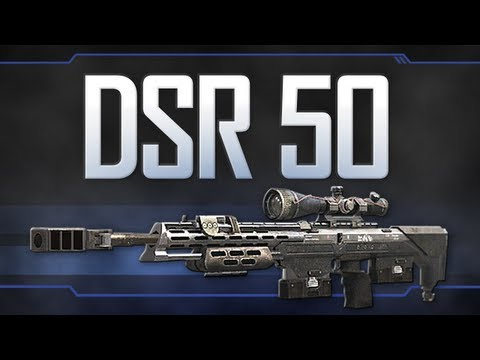 DSR 50 - Black Ops 2 Weapon Guide