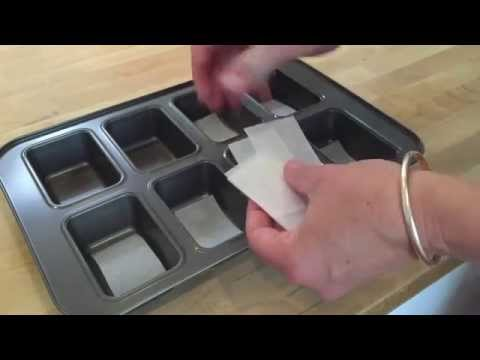BakeSwap Guide - Line a mini loaf tin in under a minute