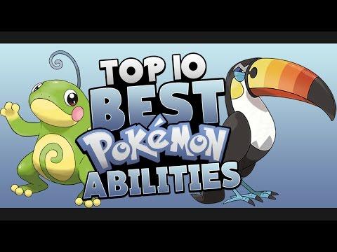 Top 10 BEST Pokémon Abilities
