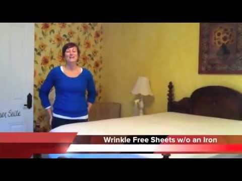 Wrinkle Free Sheets w/o an Iron