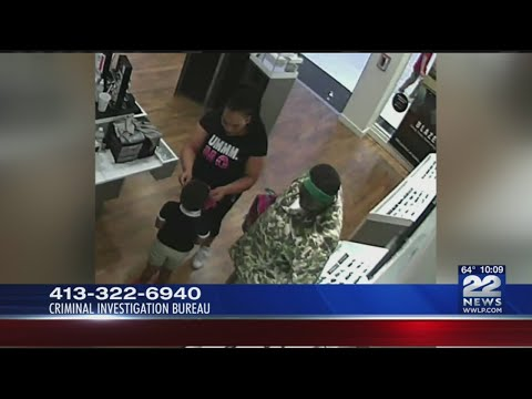 Police looking for suspects after multiple sunglasses disappear from Holyoke Mall