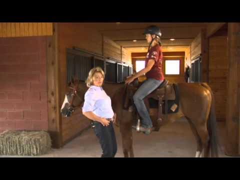 Basic Western Horseback riding position Seat and Legs with Kathy Slack