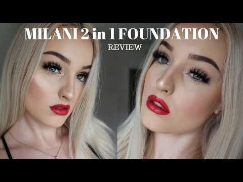 MILANI CONCEAL + PERFECT 2in1 FOUNDATION AND CONCEALER First Impressions + Review