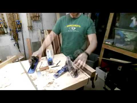 How to Make a Grooving Plane with Hand tools and Oak