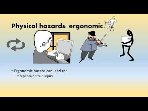 L01 Physical Hazards II and Psychological Hazards
