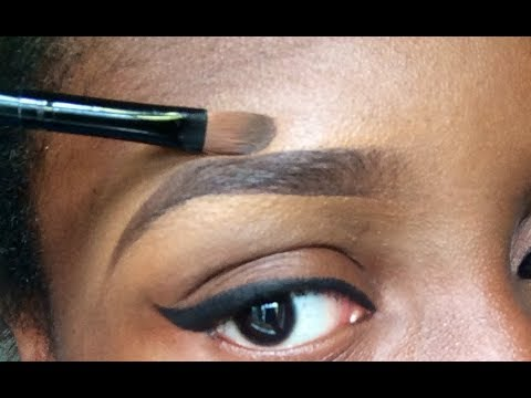 Beginners EYEBROW  Tutorial for THIN/LIGHT brows
