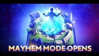 Mayhem MODE FUNNY Mobile legends
