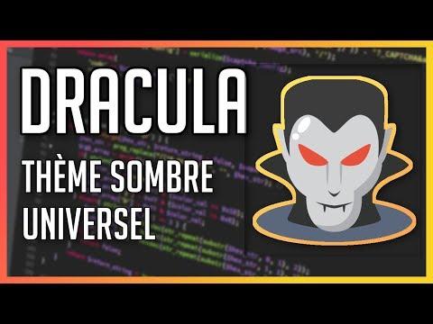 Dracula : Un thème sombre compatible avec + de 40 logiciels/éditeurs !