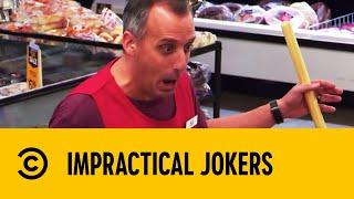 Joe Gets Supermarket Shopper To 'Do The Nawty' | Impractical Jokers