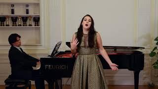 "Ekaterina Spivakovskaia   Ch. Gounod   ""Ah! Je veux vivre"" from ""Romeo et Juliette"""