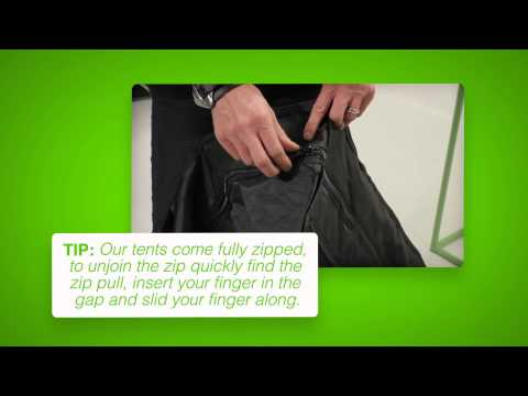 5 Simple Steps to Assemble the Green-Qube 200 (GQ200) Grow Tent