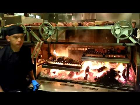 Check Out This Wood Grill at Bazaar Meats Restaurant in Las Vegas