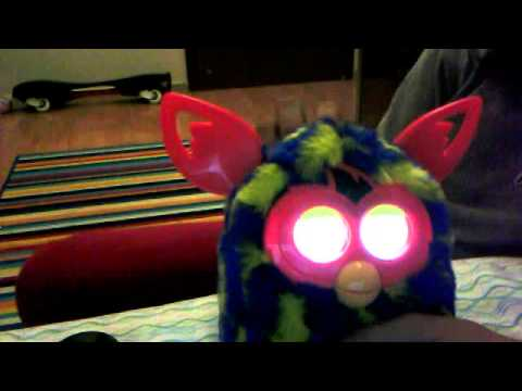 how to put your furby/furby boom to sleep!