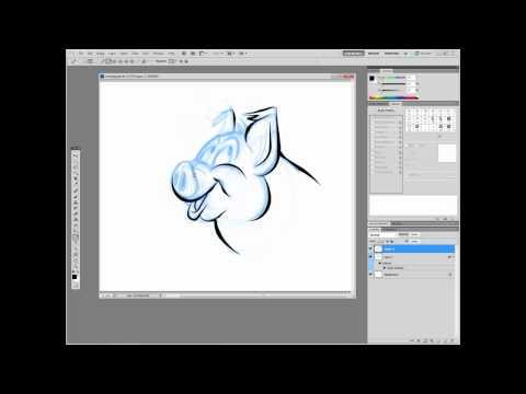 Digital Comics in Adobe Photoshop Bonus: How to Cheat at Inking
