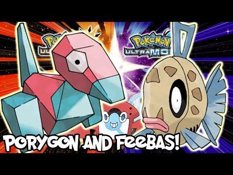 Pokemon Ultra Moon - Getting Porygon and Feebas