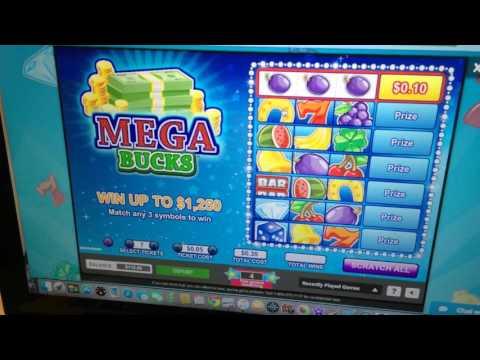 Mega Bucks Online Instant Ticket - Scratch Tickets Here - 1/29/16